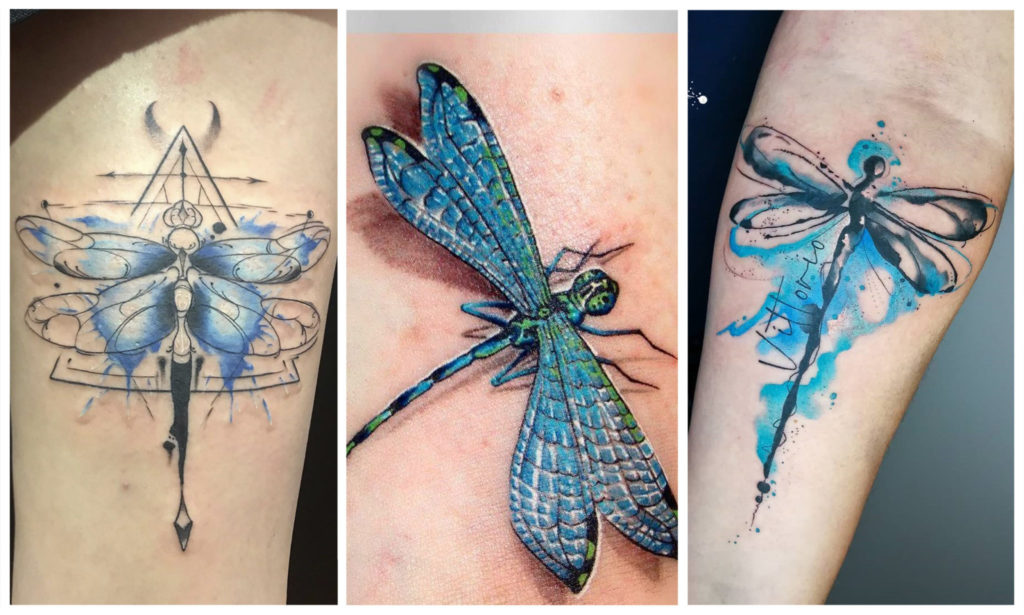 Значение Татуировки Стрекоза: чем отличается у Мужчин и Девушек?