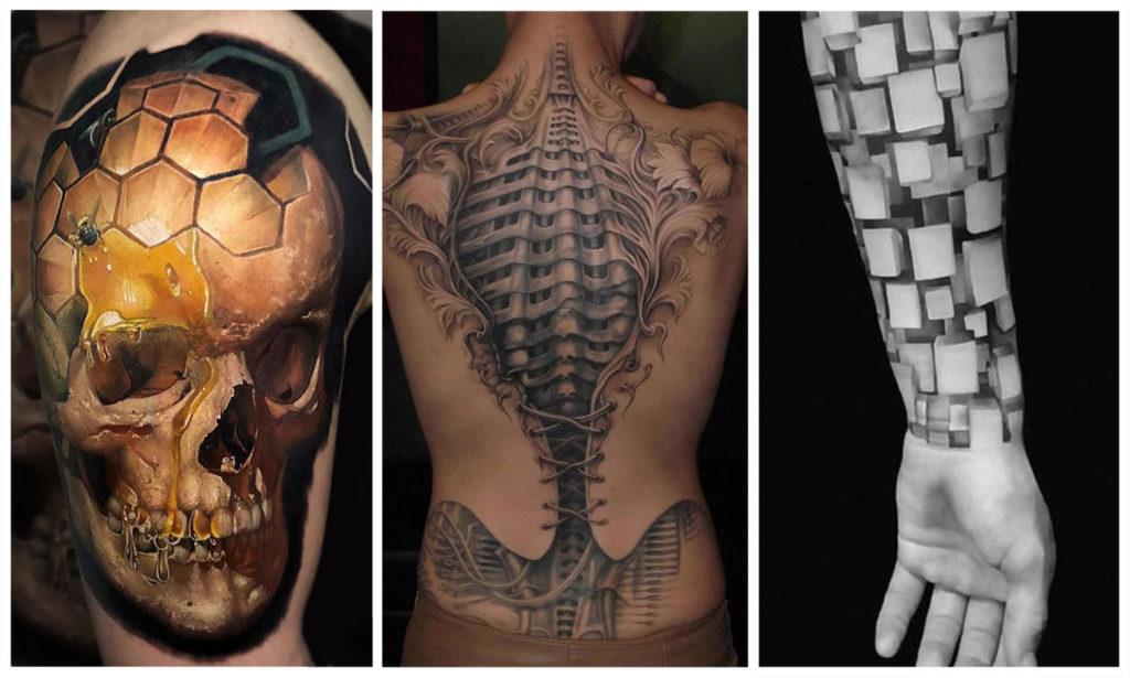 45 Красивых 3D Татуировок