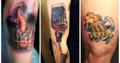 [ОТВЕТ] Почему нельзя пить до и после татуирования?