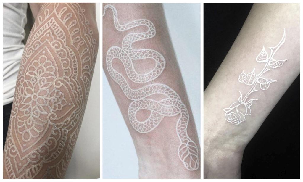 [70+ ФОТО] Белые Татуировки