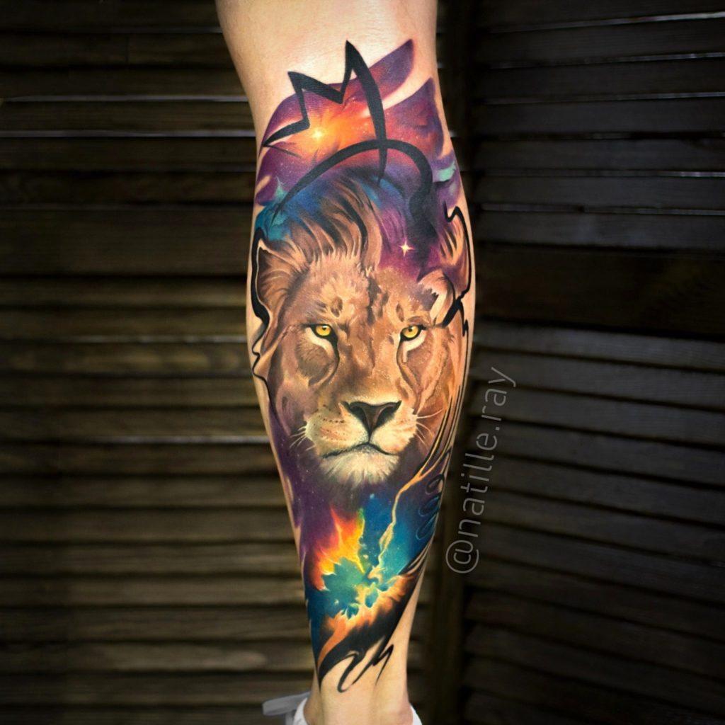модели фото тату с львами кошками китае такое