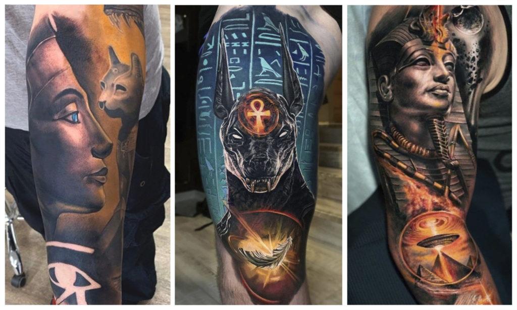 Египетские татуировки и их значение
