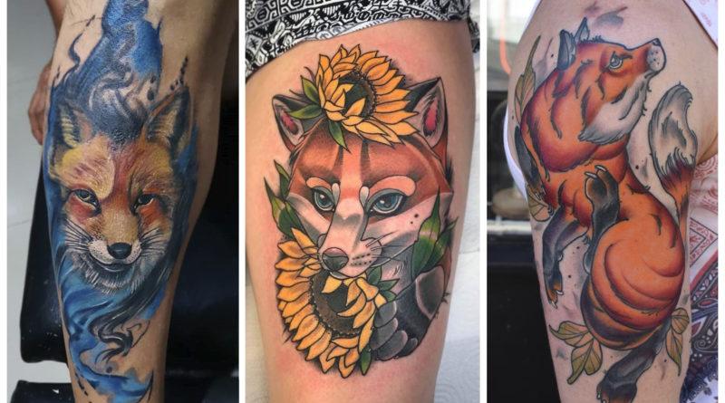 Коллаж значение татуировки лиса-2