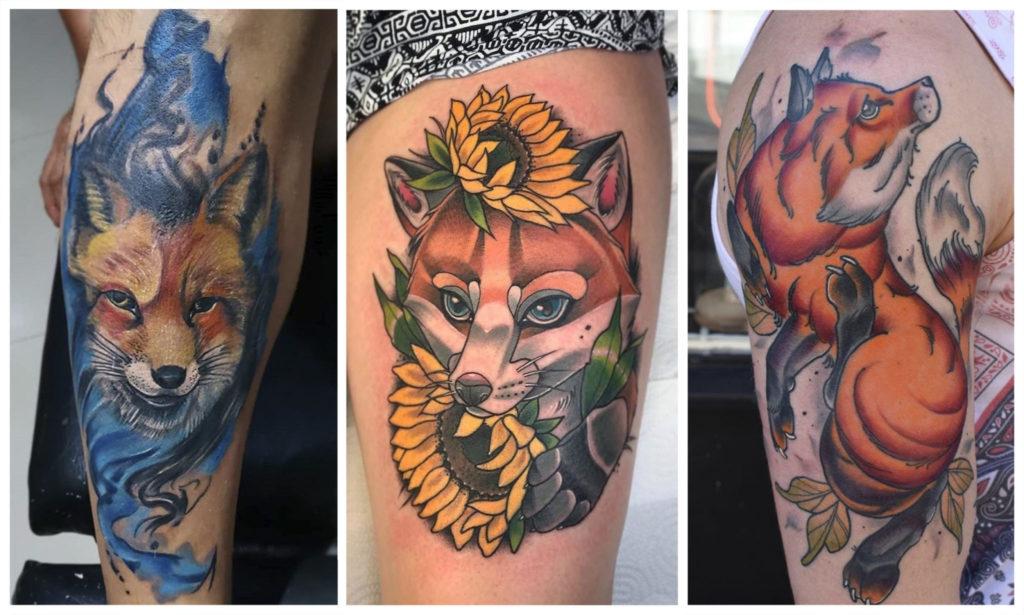 Татуировка Лиса: что Означает для Девушек и Мужчин