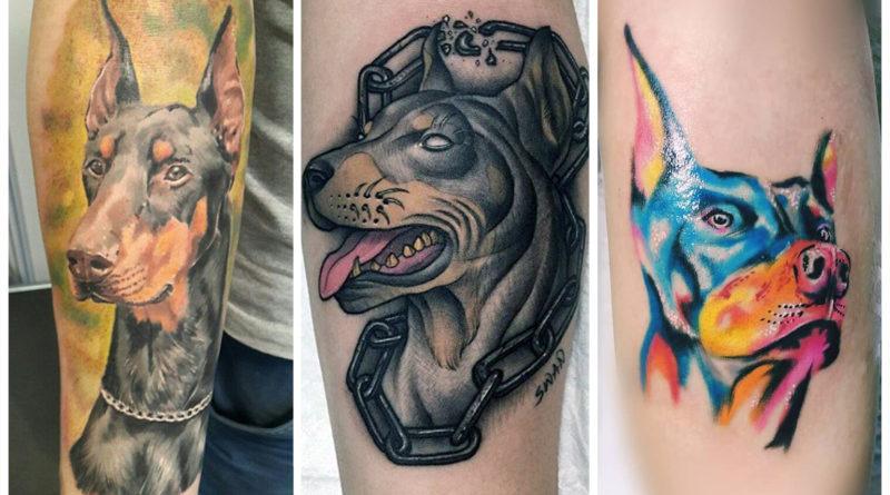 Татуировки доберманов