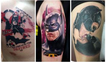 Тату Бэтмен: Значение, Эскизы, Идеи