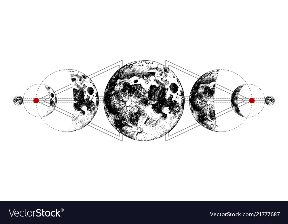 Эскиз планеты меркурий