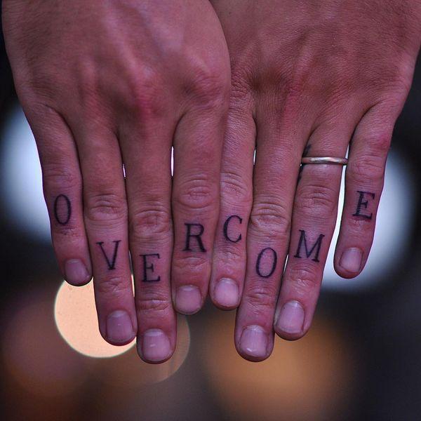 Буквы на пальцах