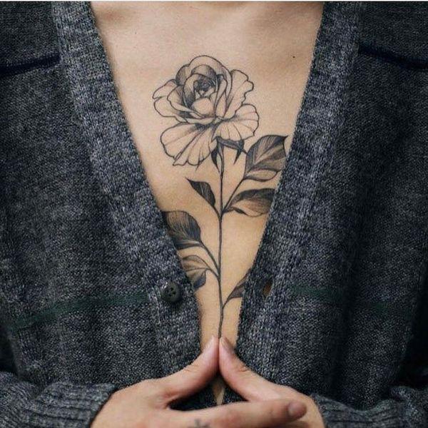 Черно-серая роза