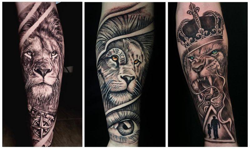 Татуировка Лев - что означает?