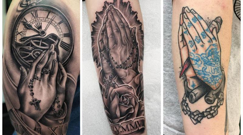 [60 Фото] Татуировки Руки Молящегося