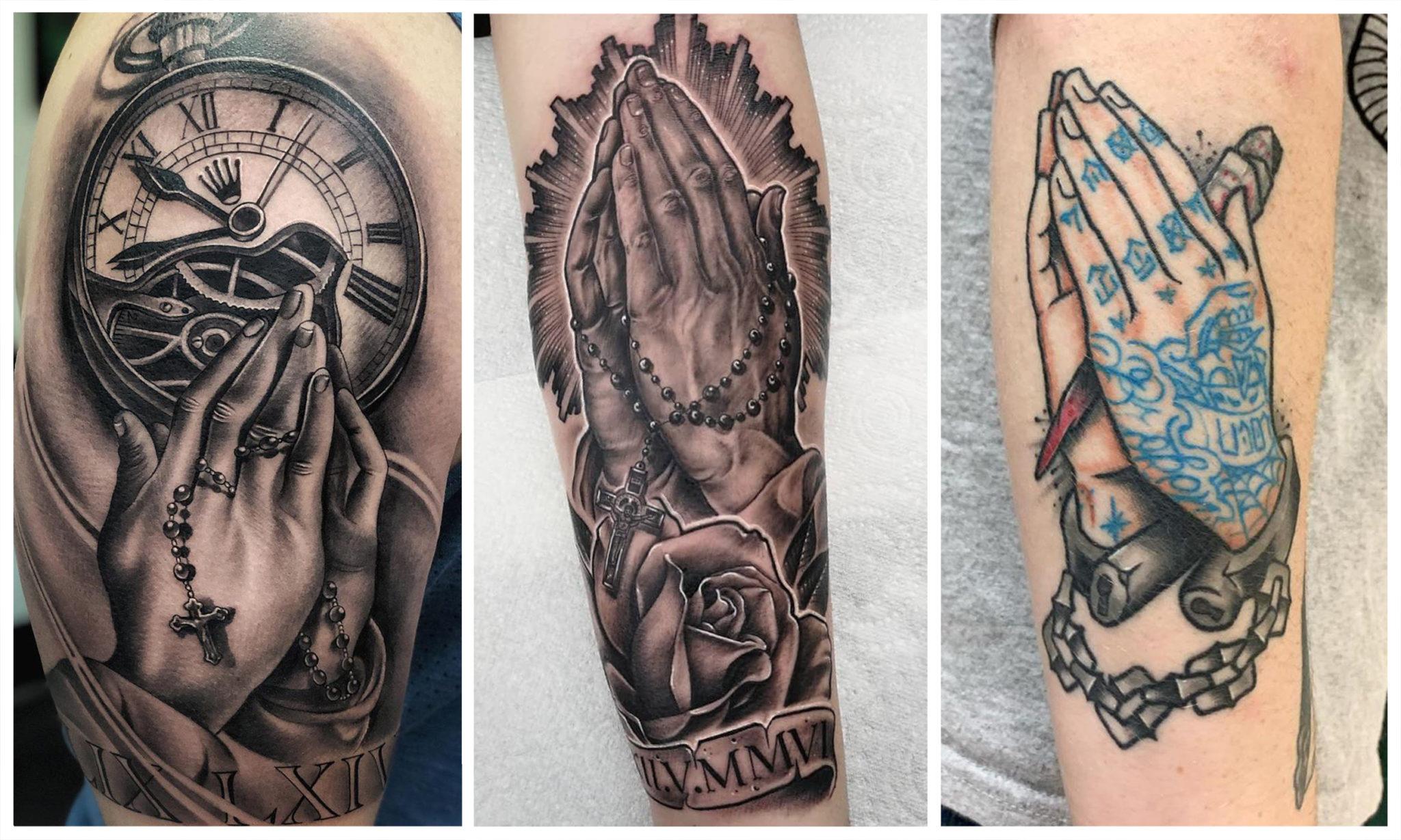 [40 Фото] Татуировки Руки Молящегося
