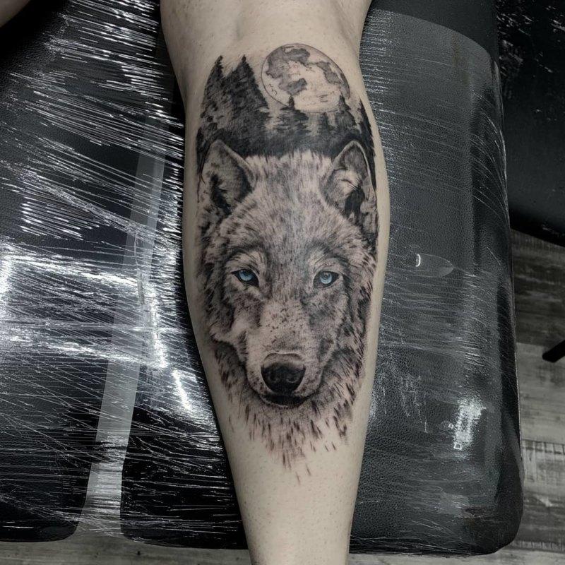Волк смотрящий в душу