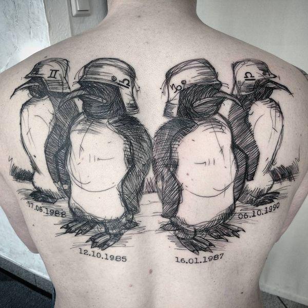 Тату Пингвин Команды