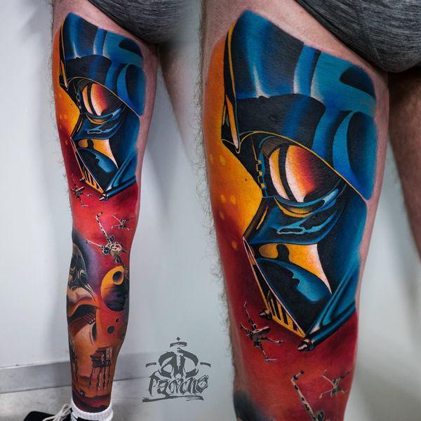 Самая впечатляющая татуировка с длинными рукавами Star Wars