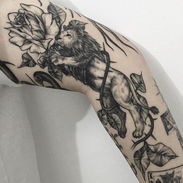 Еще одна удивительная татуировка для мужчин