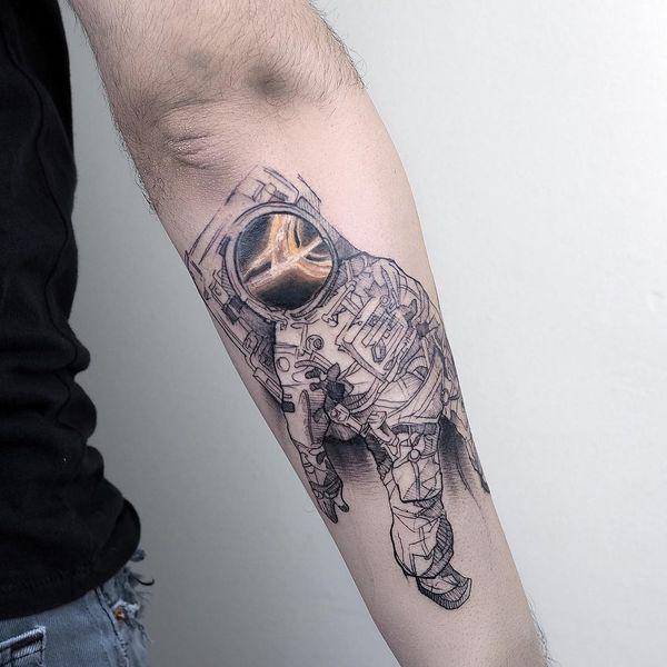 Еще одна крутая татуировка для мужчин
