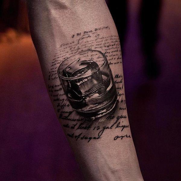 Эпическая 3D татуировка для мужчин