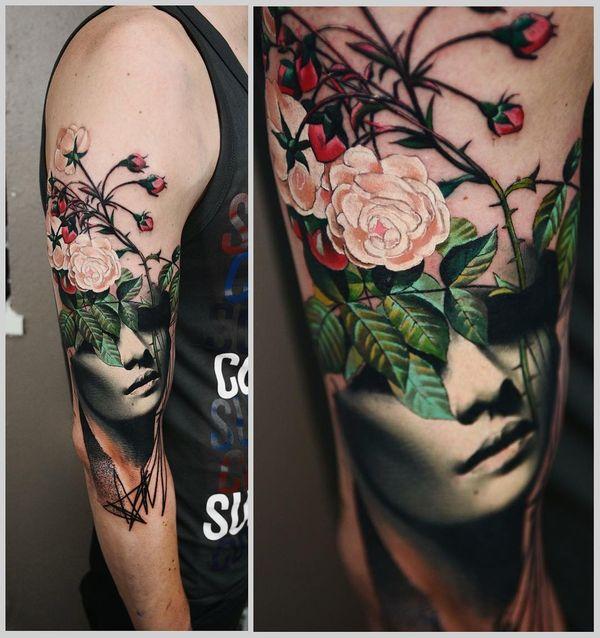 Идеальная картина татуировки для мужчин