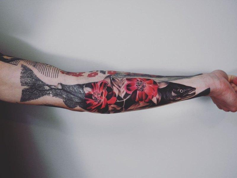 Первоклассная идея татуировки для парней