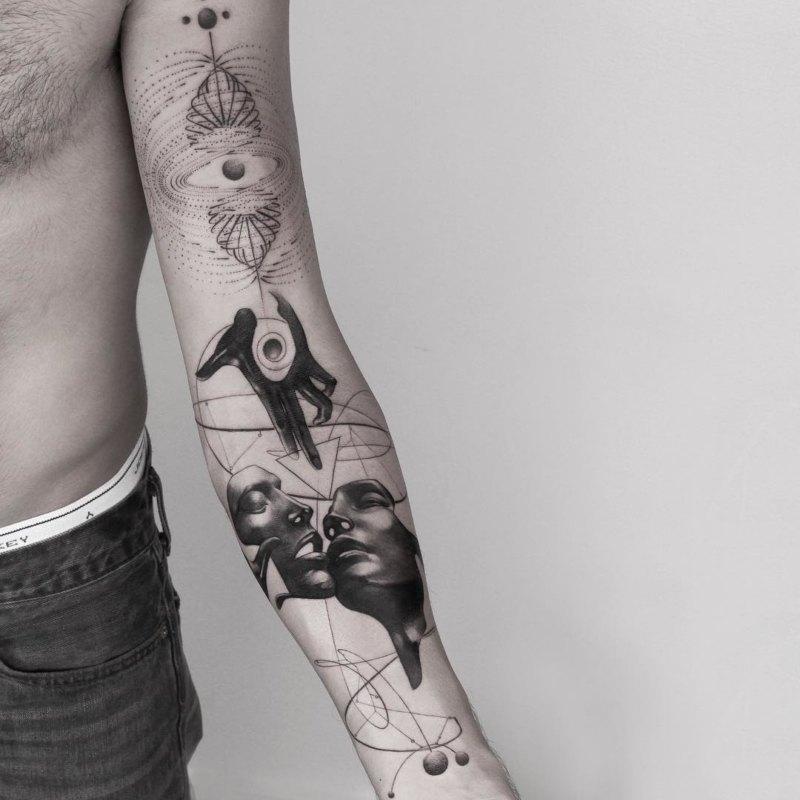 Уникальная идея татуировки для мужчин