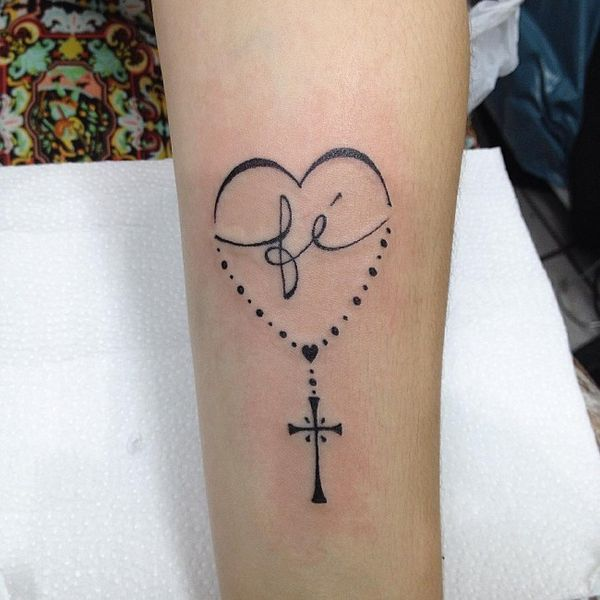 Хорошая татуировка на руке для верных людей