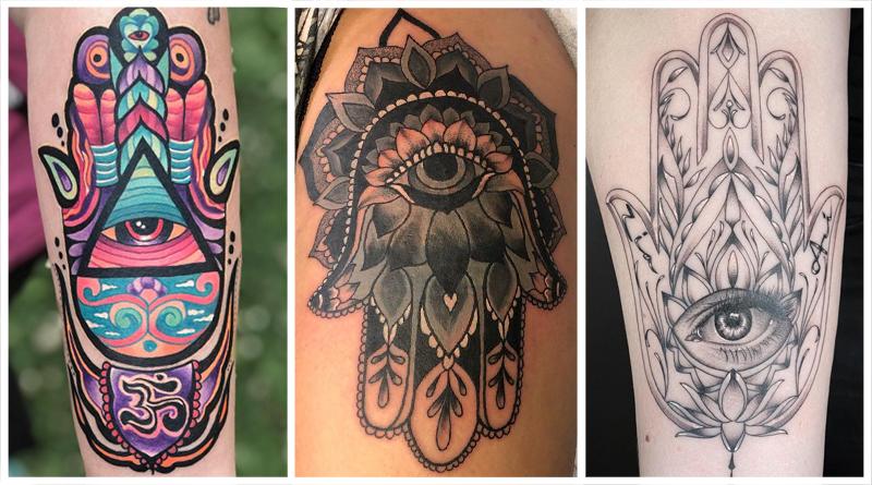 Татуировка Хамса и рука Фатимы – мощный амулет