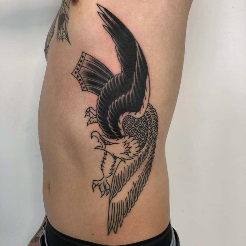 татуировка греческого орла