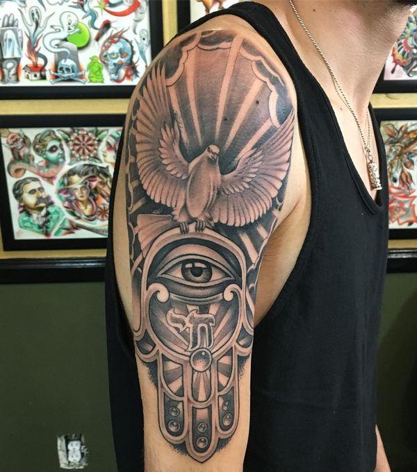 хамса рукав татуировки