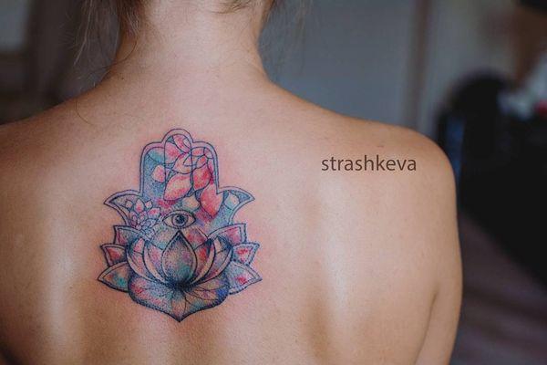 идея татуировки хамса