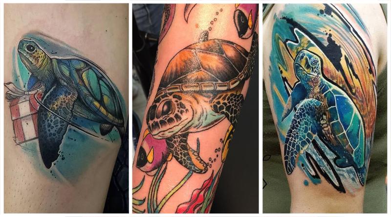 Татуировки Черепах и их Значения