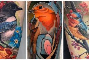 50 Популярных Татуировок Птичек и их Скрытые Значения