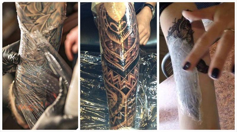 Как ухаживать за татуировкой с первых дней после нанесения