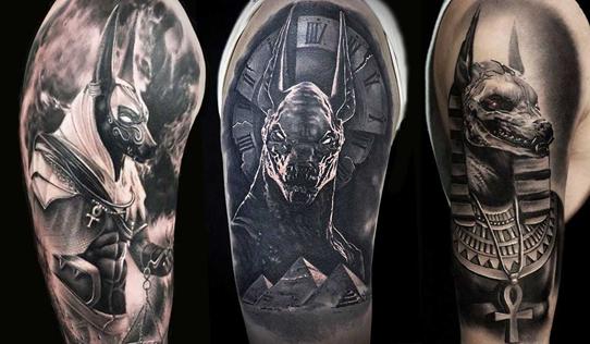 Татуировки у мужчин на плечах